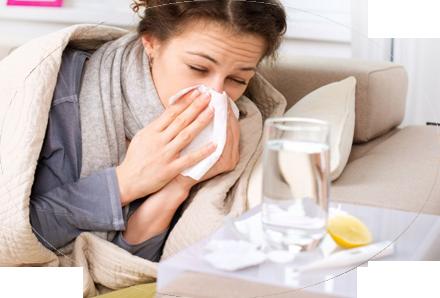 Кашель, насморк и температура