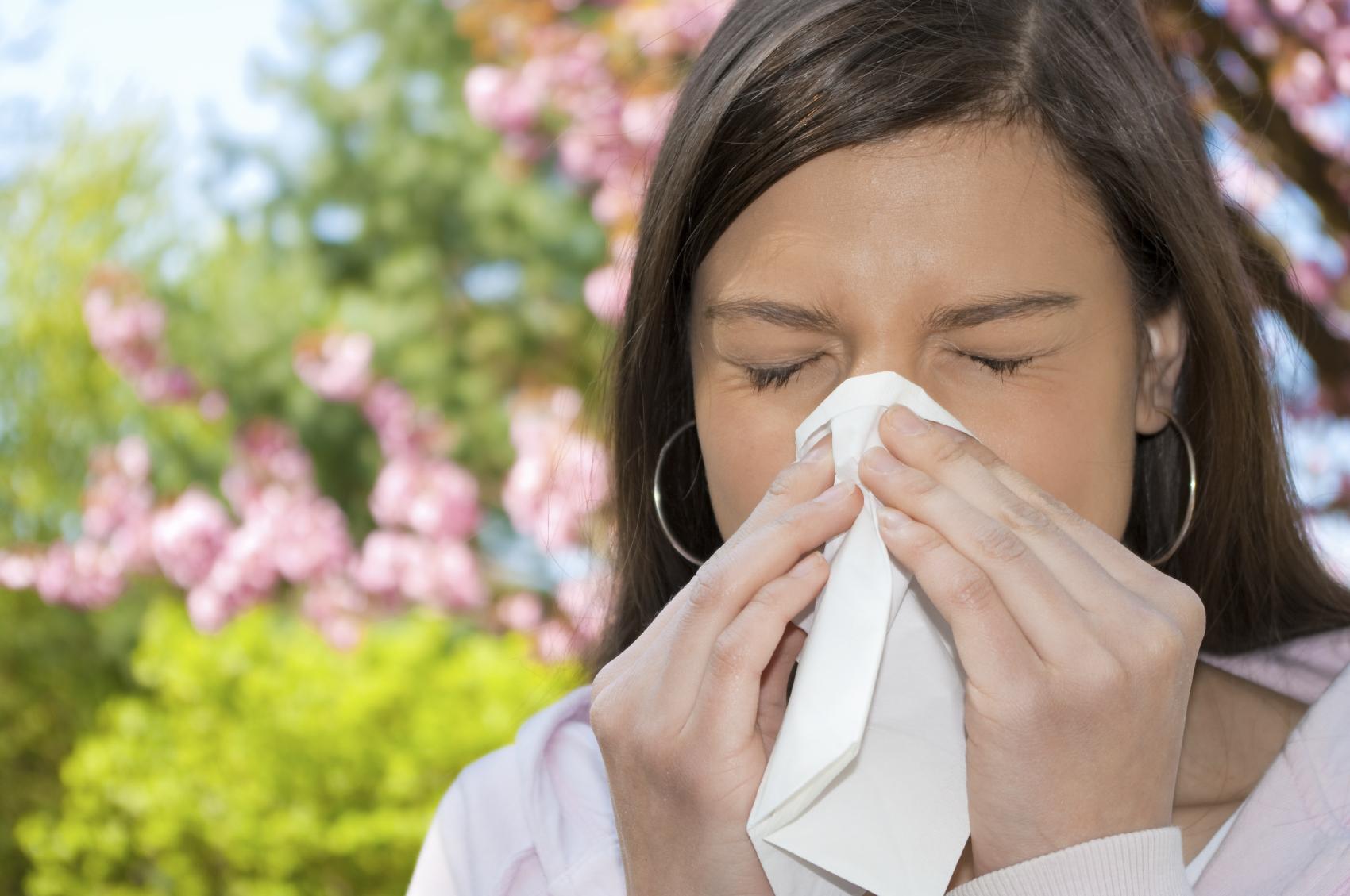 Ринит из-за аллергии