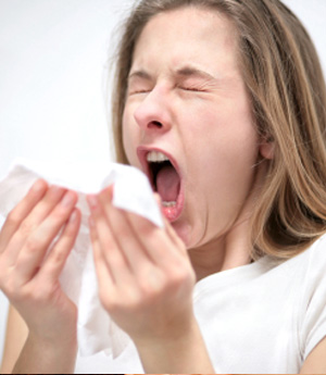 Признаки аллергического ринита