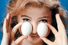 Греем нос яйцами при гайморите